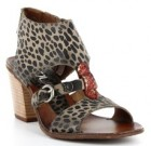 Mjus print animal Sandal leopard Made Italy 237003