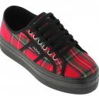 Zapatos Victoria Plataforma Escocesa British 9227 Envío Gratis ¡20% DESCUENTO!