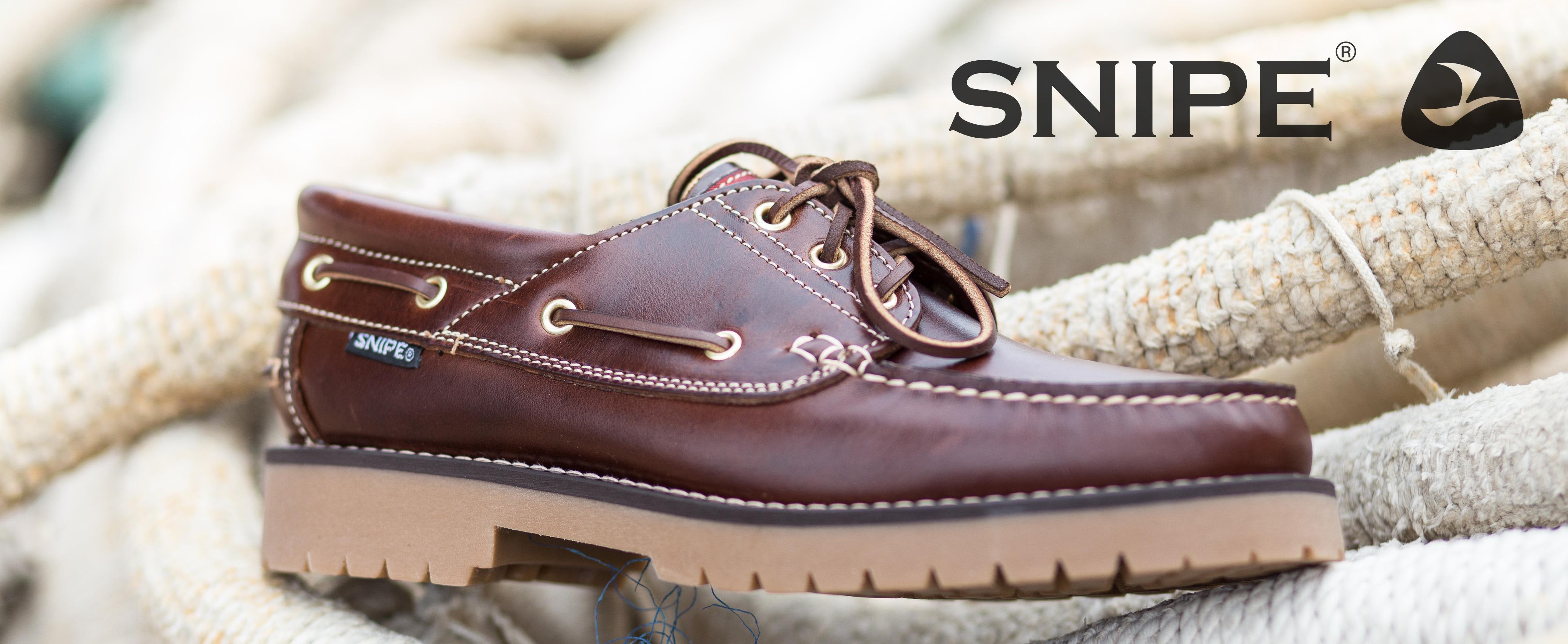 Zapatos Snipe náutico 21201 ciclón marrón seahorse