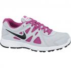 Bambas Nike gris rosa run