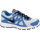 Nike run azul gris Envío Gratis