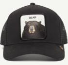 Gorra Goorin Bros bear Animal farm oso negro