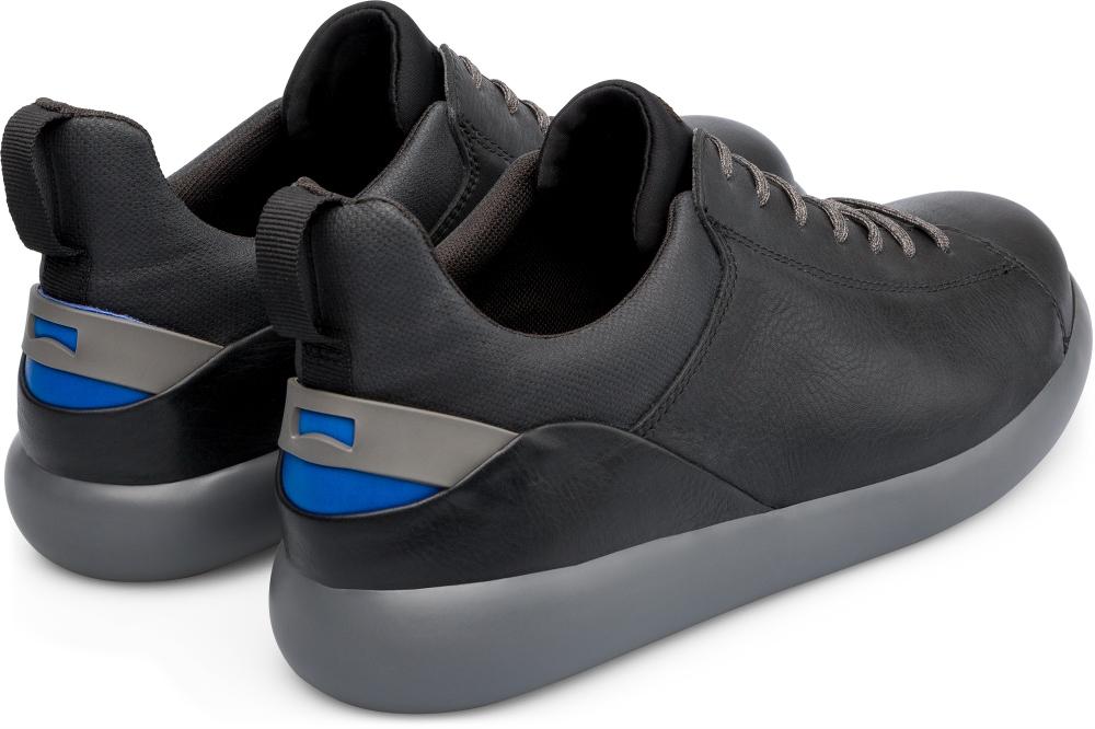 Zapatos Camper Pelotas CAPSULE piel negro
