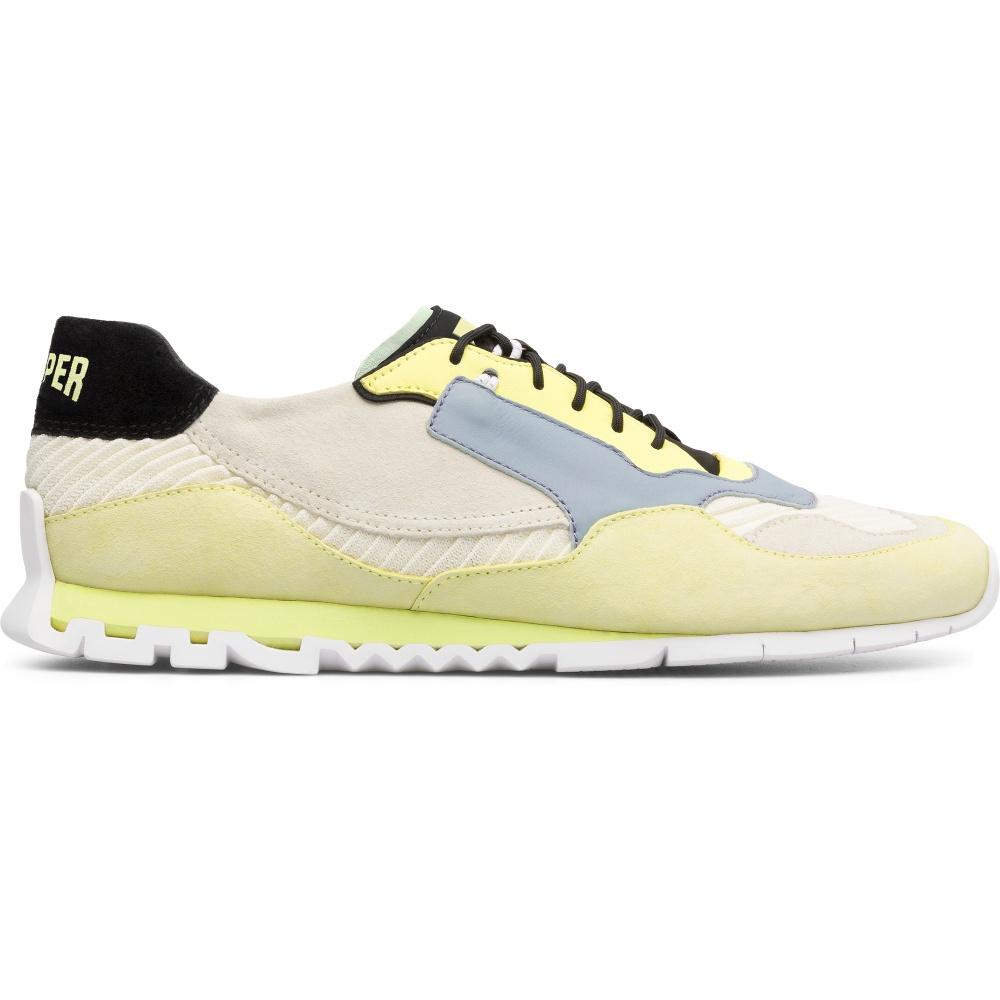 Camper Nothing K100436-001 Sneakers blanco amarillo