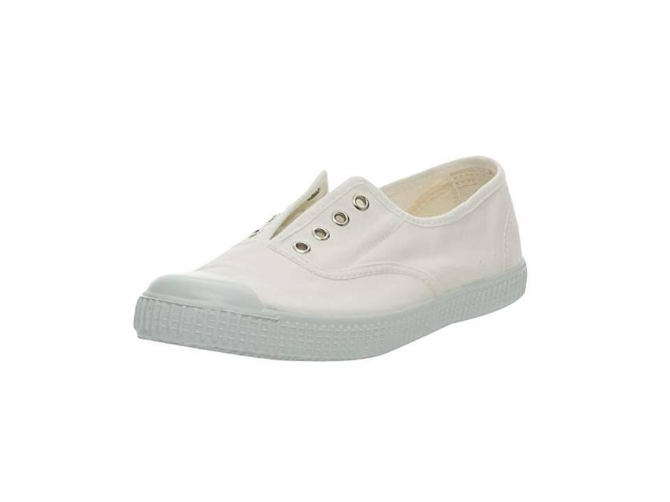 Victoria Inglesa Elastico Tenido Punt, Zapatillas para Mujer 6623 BLANCA
