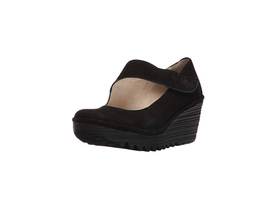 Fly London Yasi negro, Zapatos para Mujer