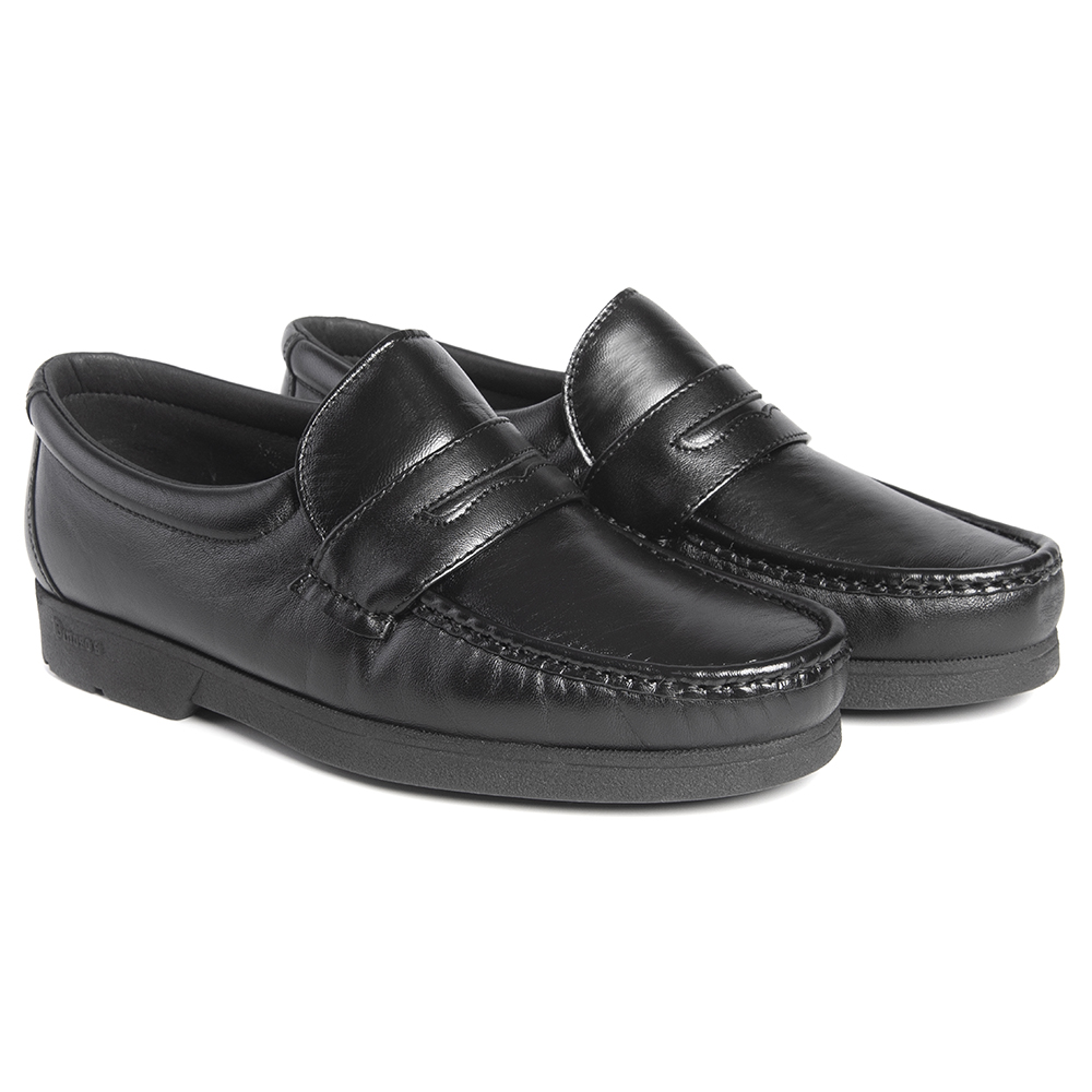Zapato Pinosos 4740 mocasín negro hombre