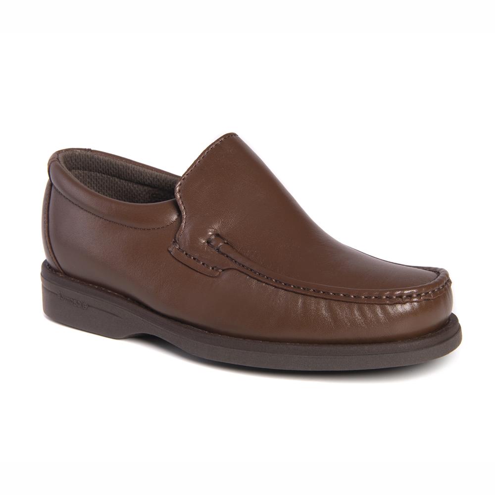 Zapato Pinosos 5614 mocasín castaño hombre