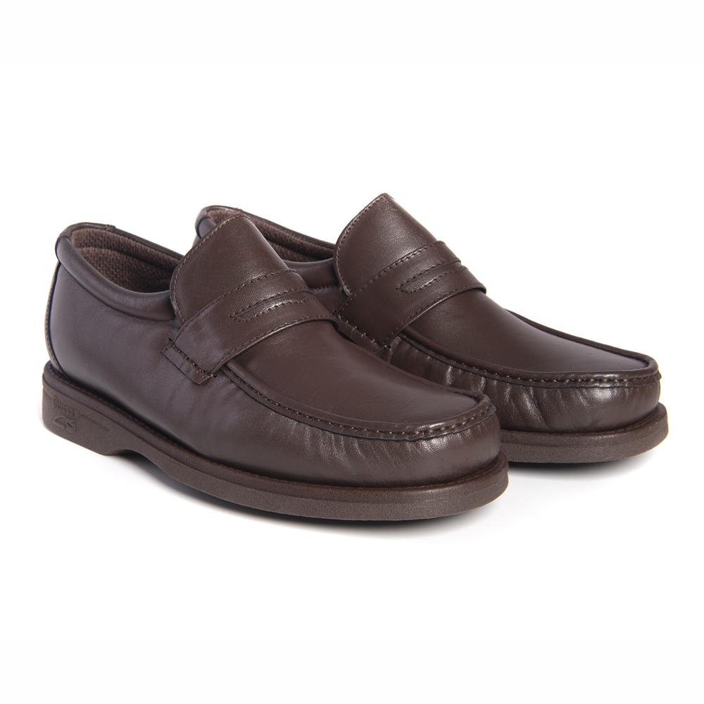 Zapato Pinosos 5615 mocasín caoba hombre