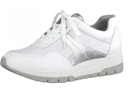 Tamaris Mujer Zapatos de Cordones 23793-26, Plantilla Desmontable