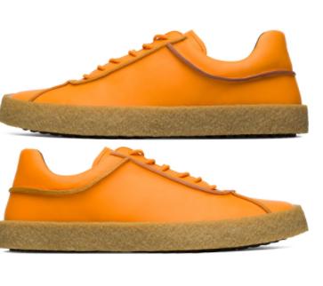 Camper Twins naranjas K100637-003 Zapatillas para Hombre