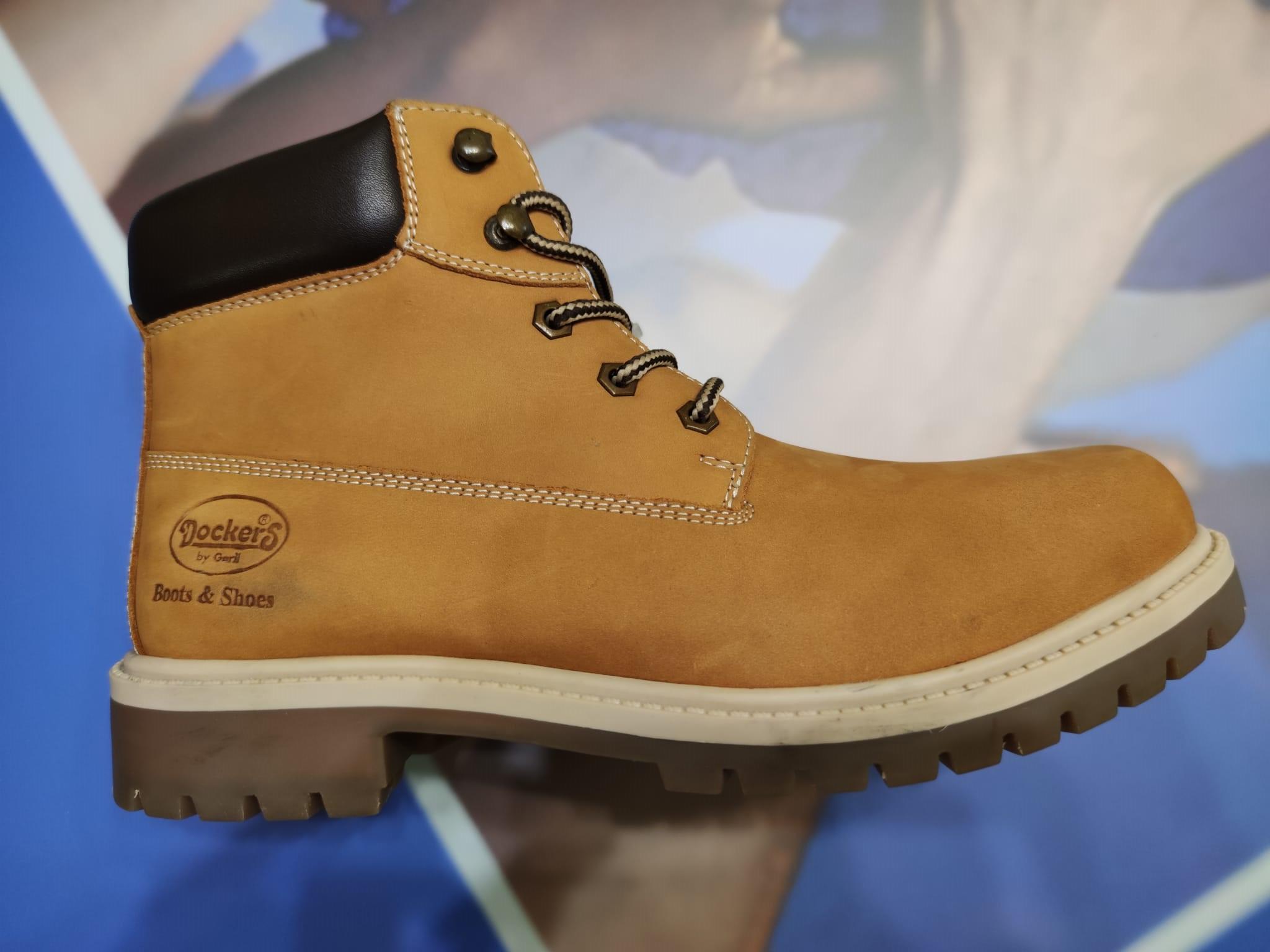 Bota amarilla golden tan Dockers by Gerli Classic Boot Illinois